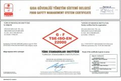 ISO-22000 belge