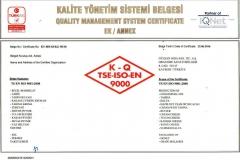 ISOO-9001-2008 kapsam